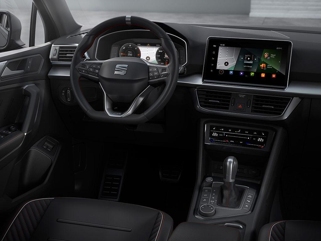 SEAT Tarraco con motor diésel de 150 CV y cambio DSG