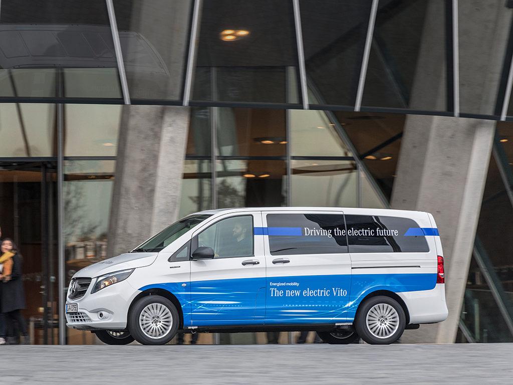 Se inicia la comercialización de la Mercedes-Benz eVito