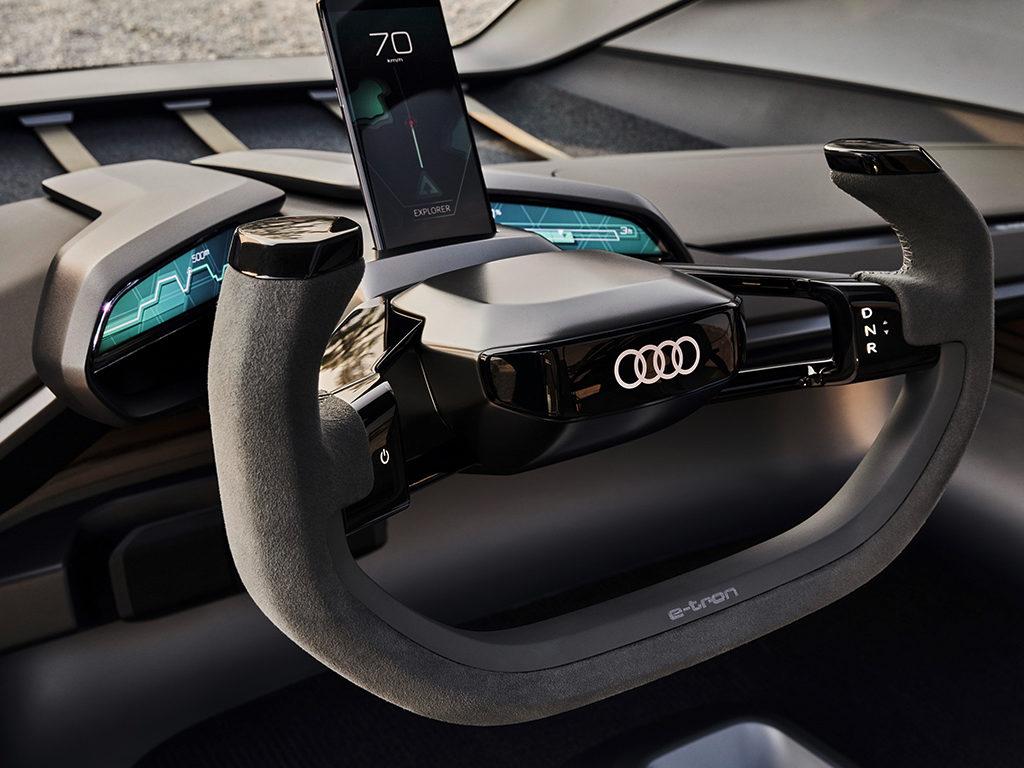 AUDI AI:Trail Quattro, el 4x4 del futuro