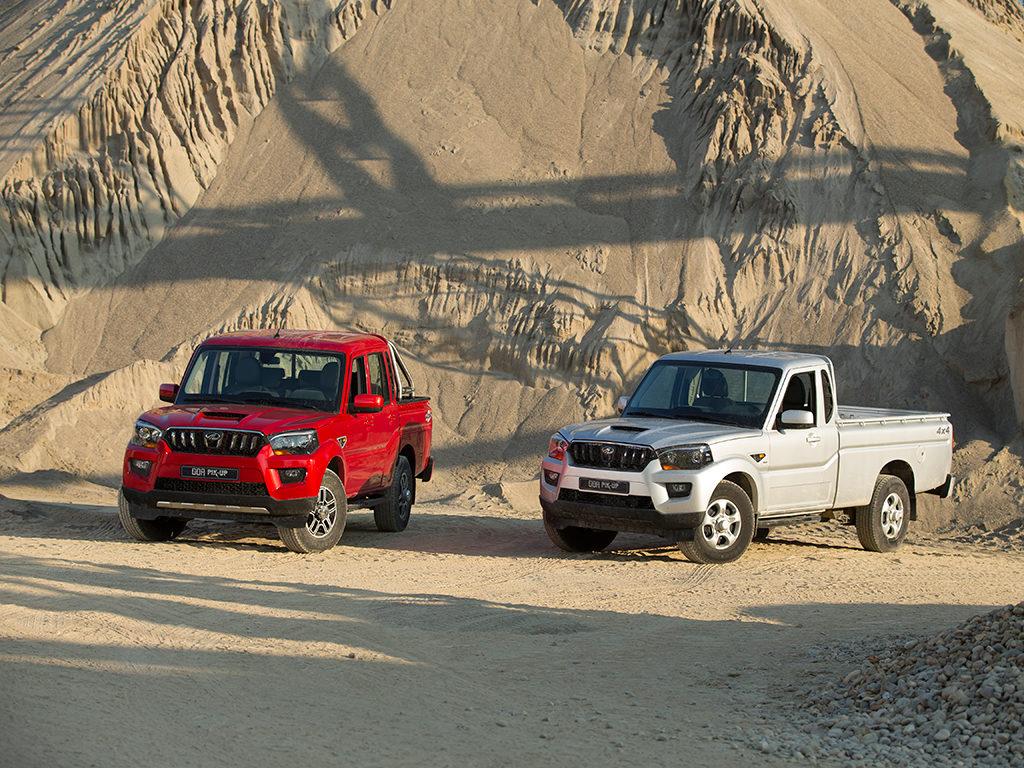 Goa Pik-Up Plus así se llama el nuevo Pick-up de Mahindra