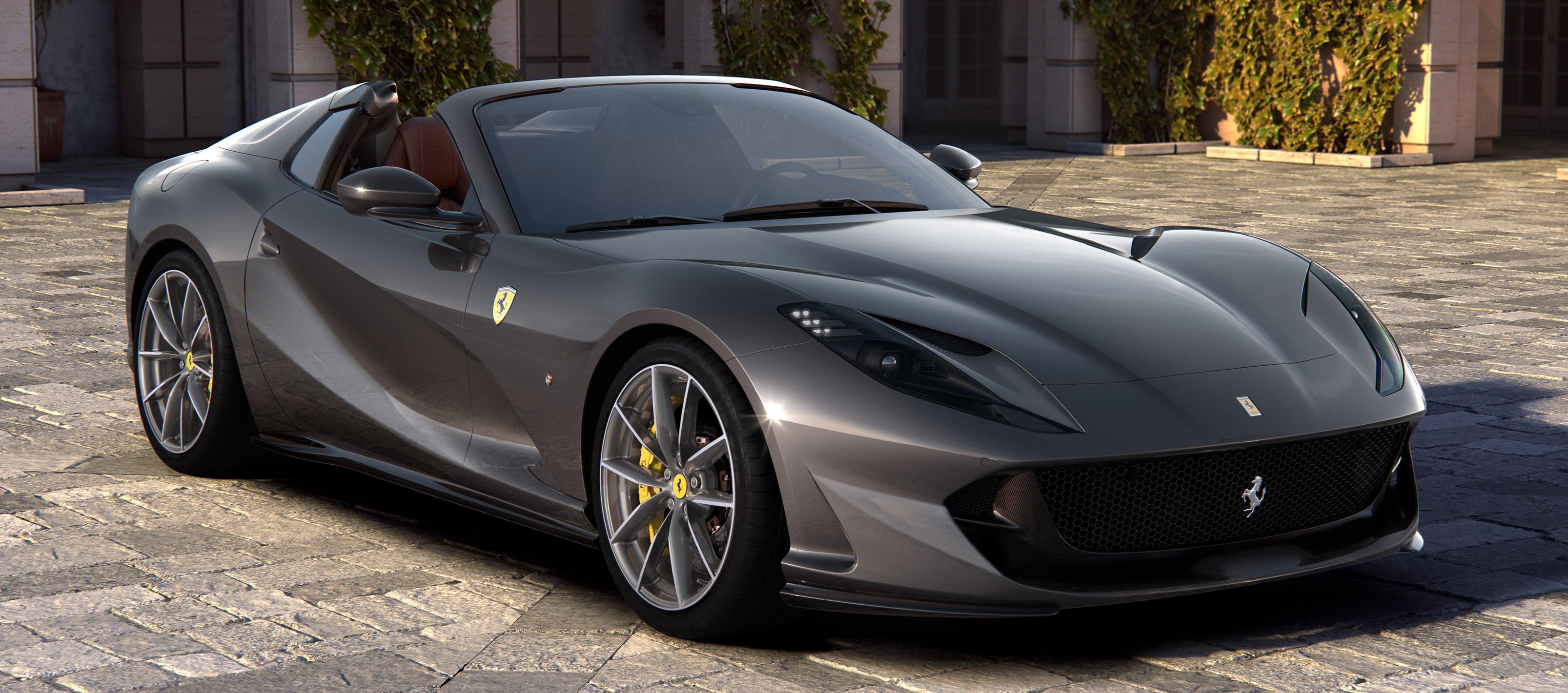 Ferrari 812 GTS, vuelve el V12 Spider