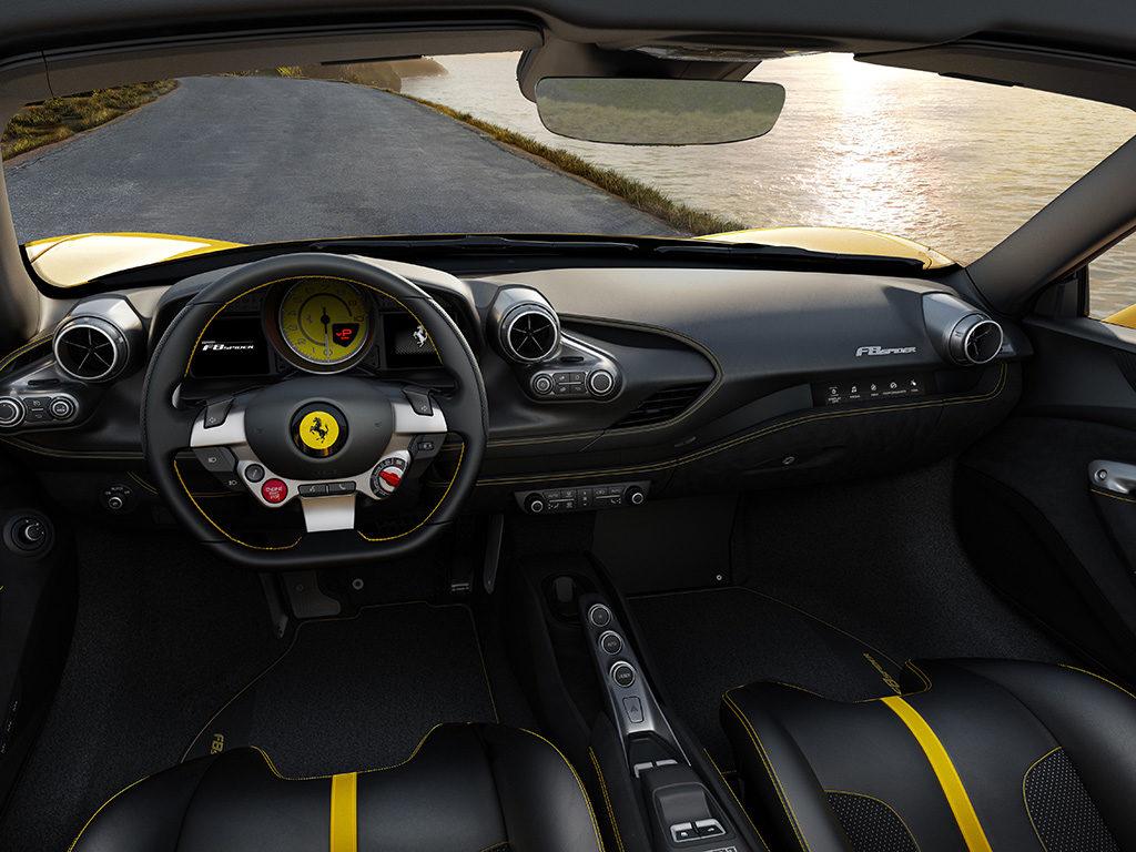 Nuevo Ferrari F8 Spider