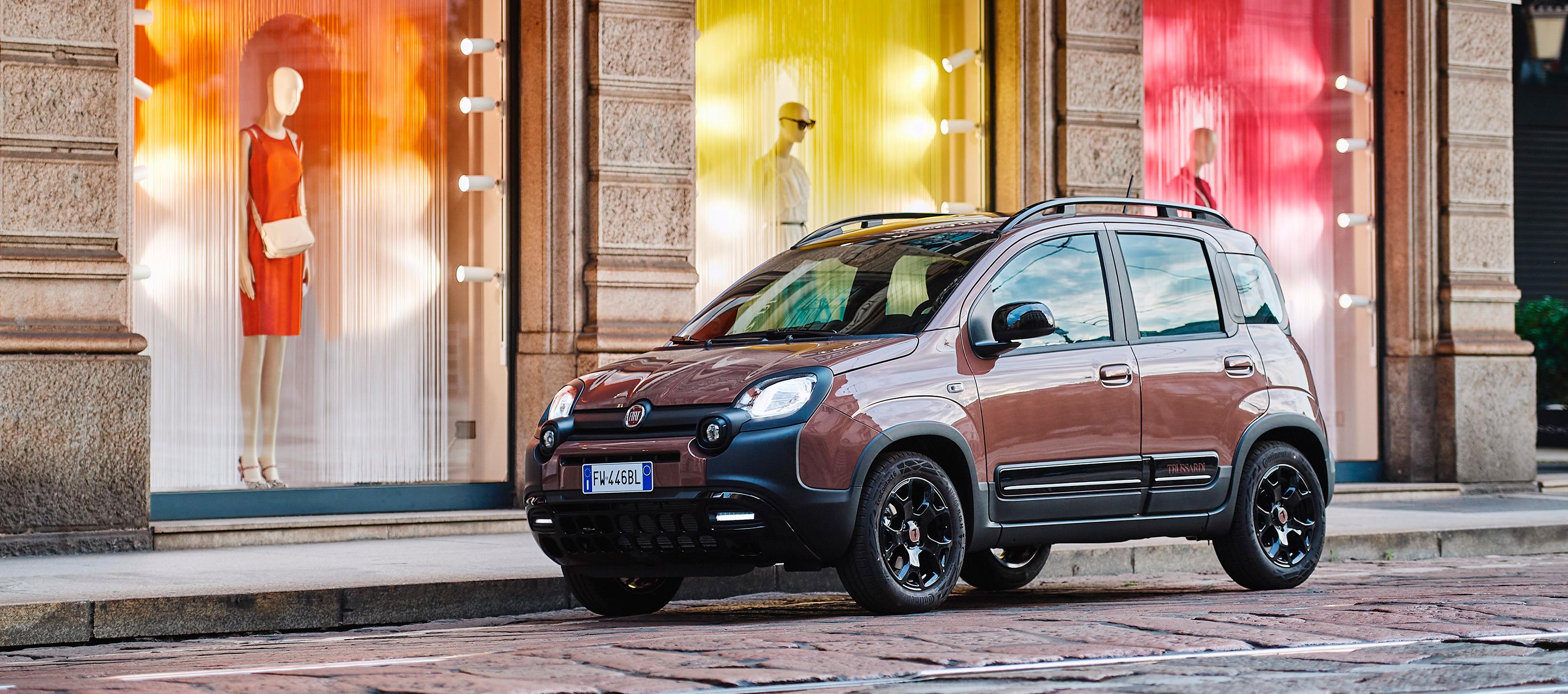 Fiat Panda Trussardi, el Panda de lujo