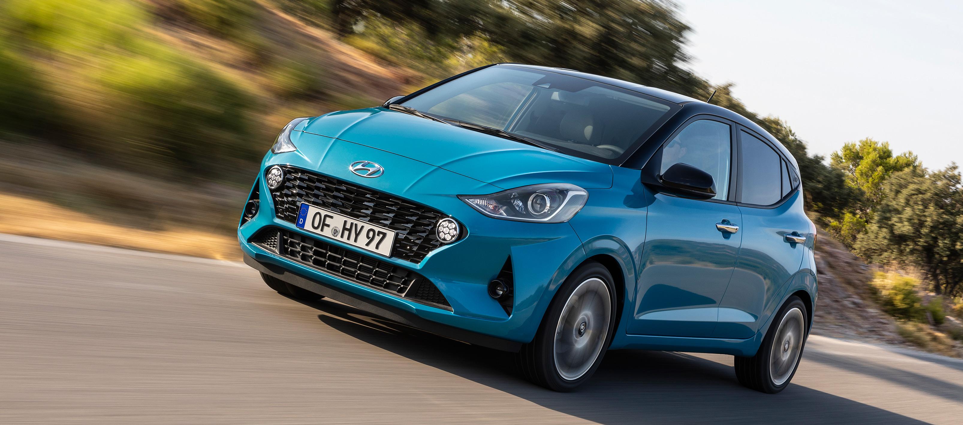Hyundai i10 más dinámico, más avanzado