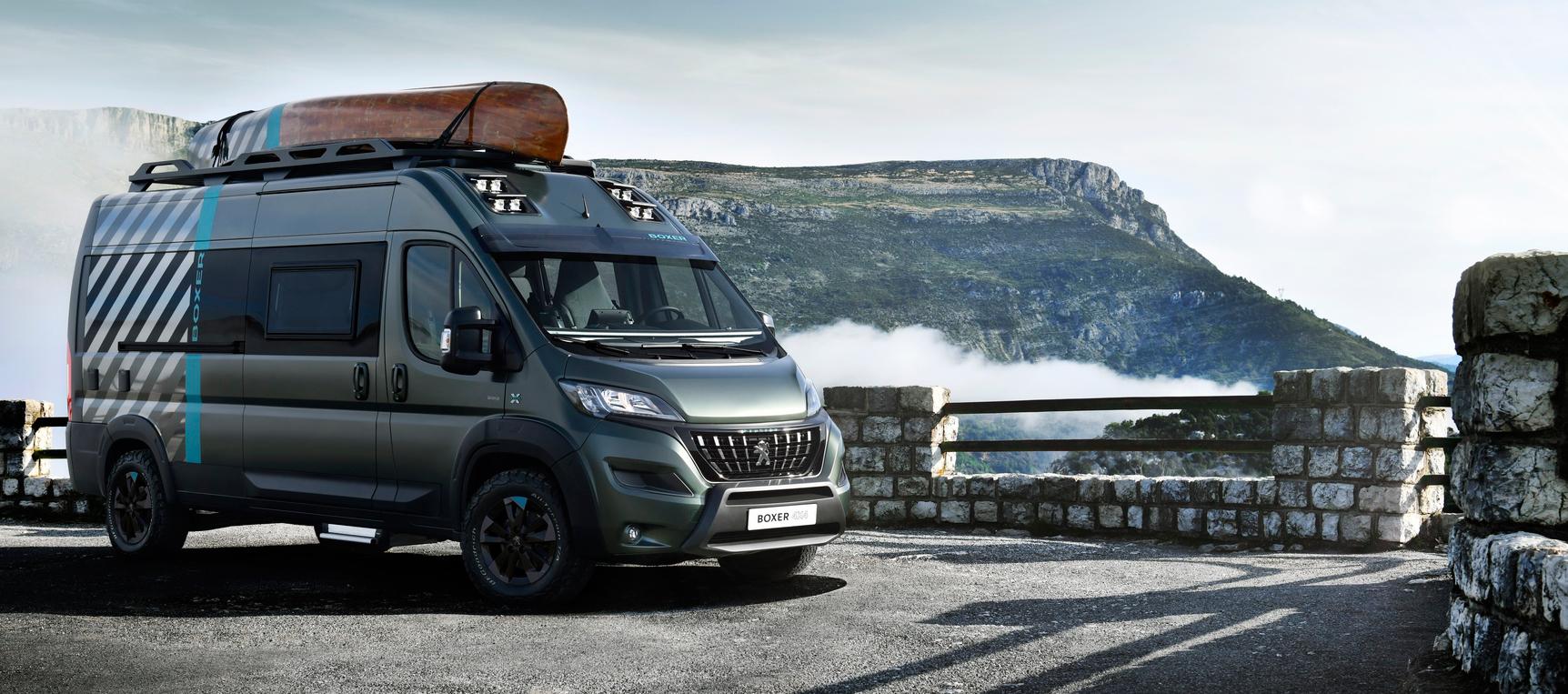 Peugeot Boxer 4x4 Concept para aventureros sin límites