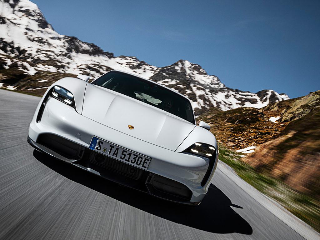 Porsche Taycan, estreno mundial