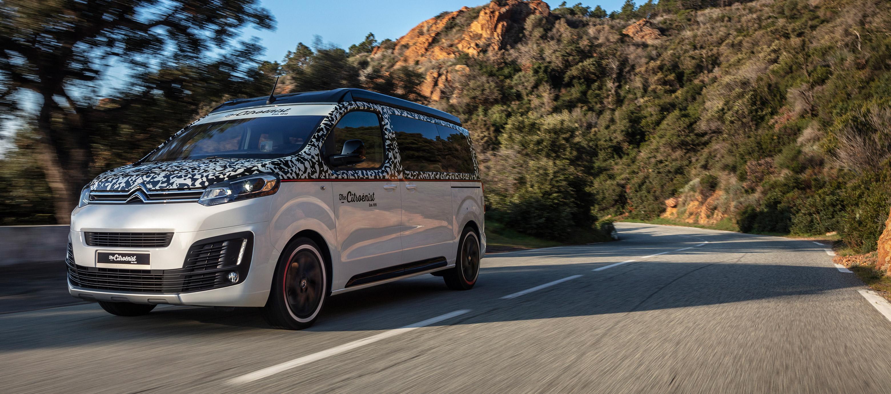 Citroën expone el Spacetourer The Citroënist Concept