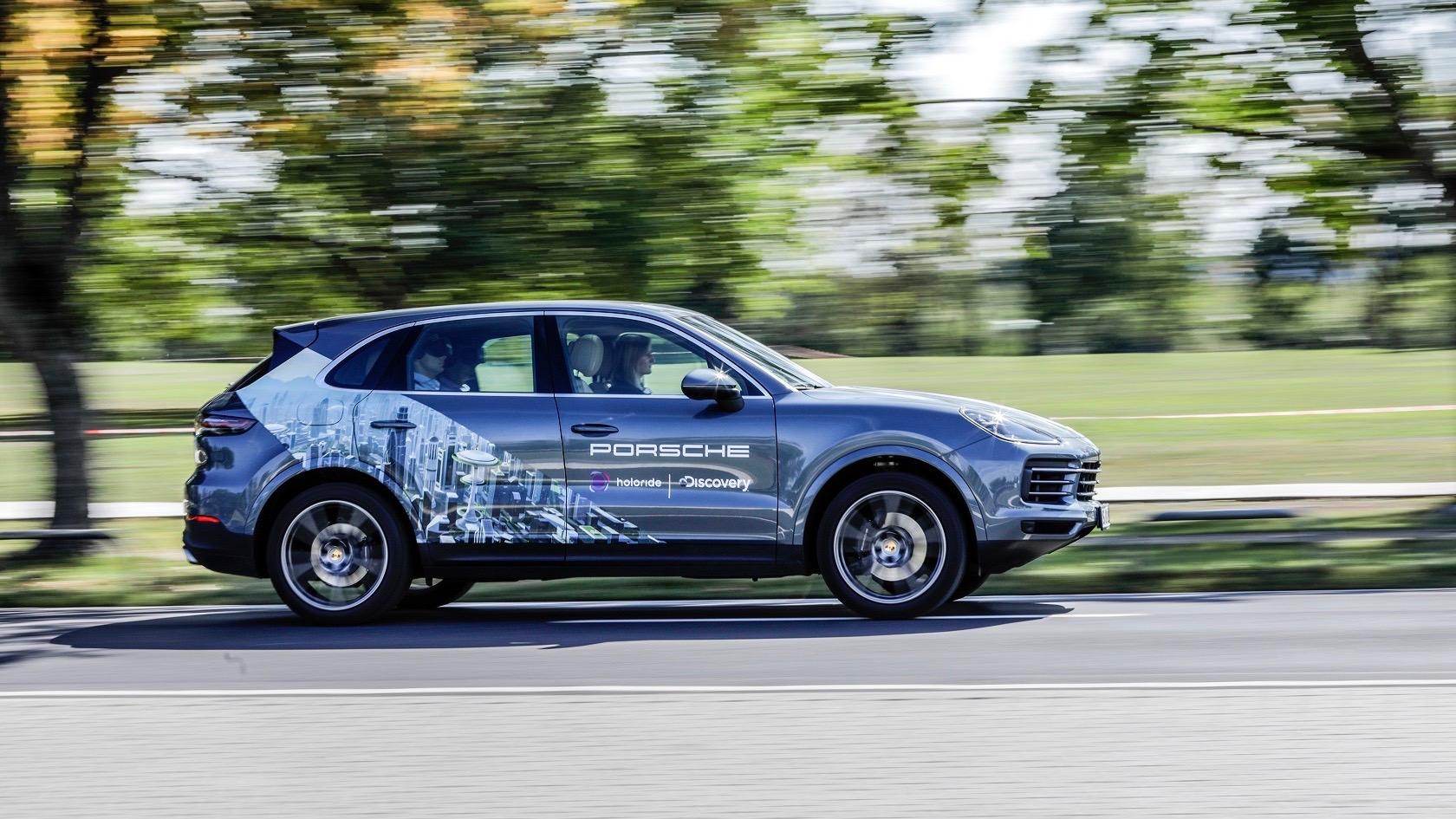 Porsche, Holoride y Discovery presentan una nueva solución de realidad virtual