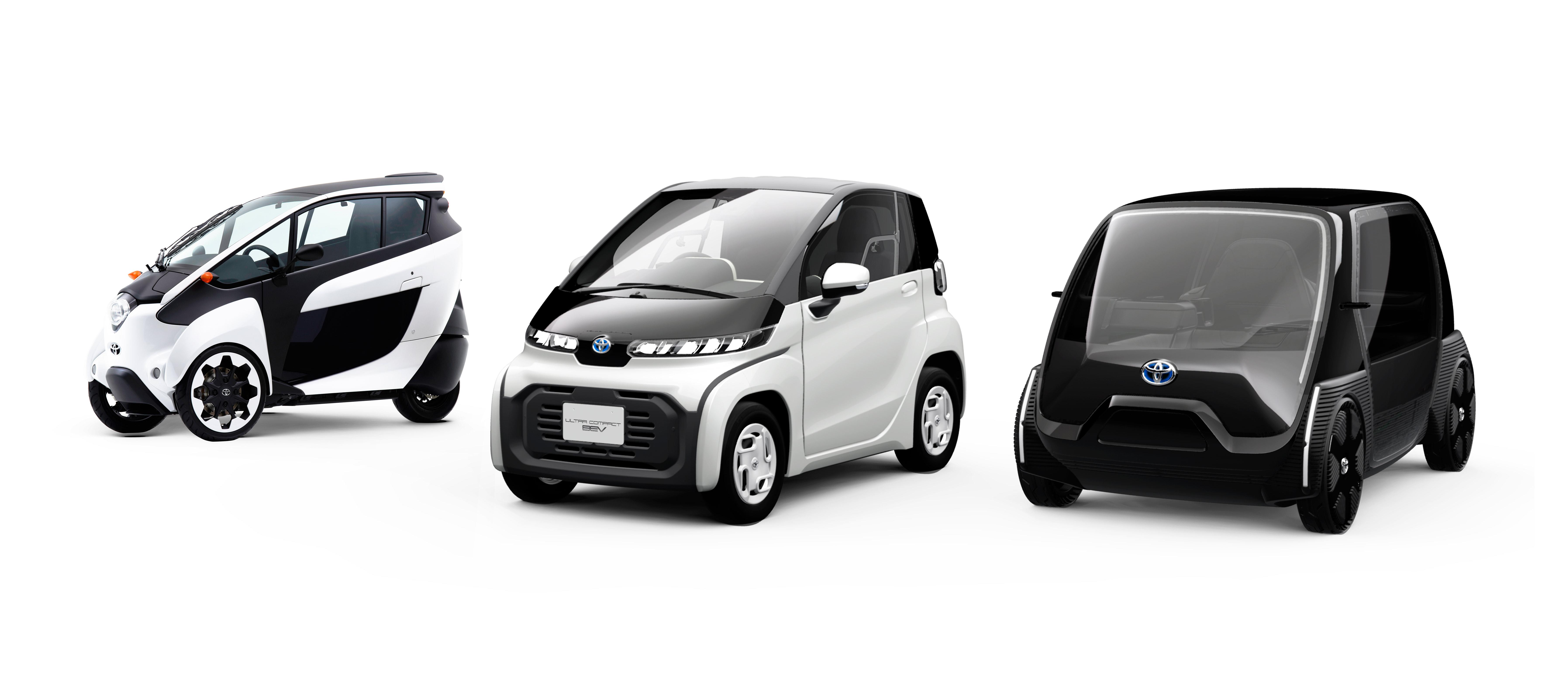 Toyota ha presentado Ultra-compact