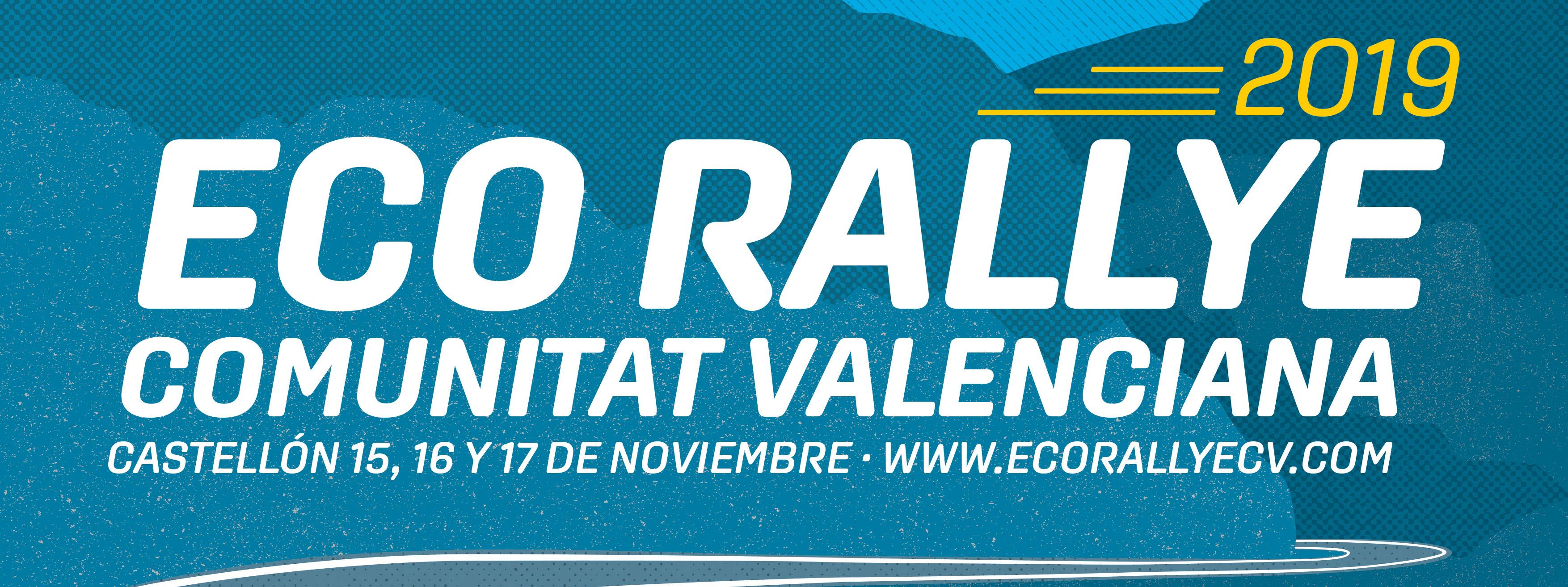 Presentación del Cartel del VI Eco Rallye de la Comunitat Valenciana