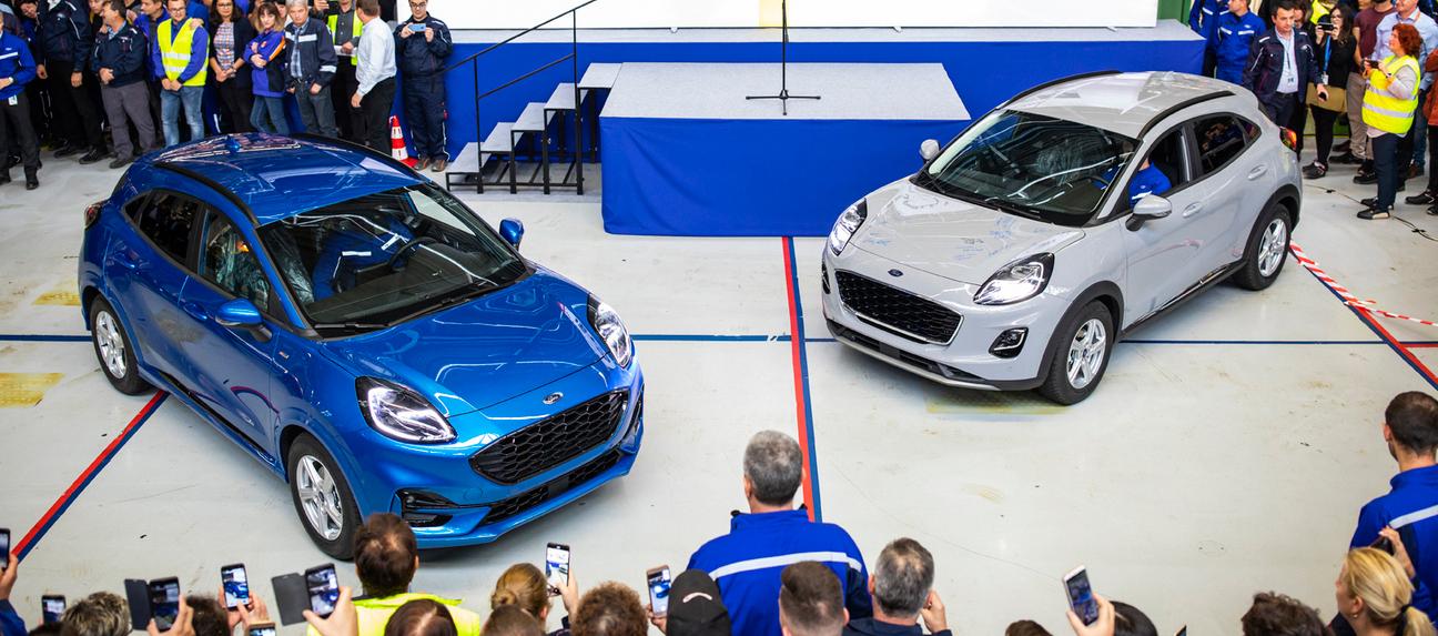 El nuevo Ford Puma electrificado ya está en producción