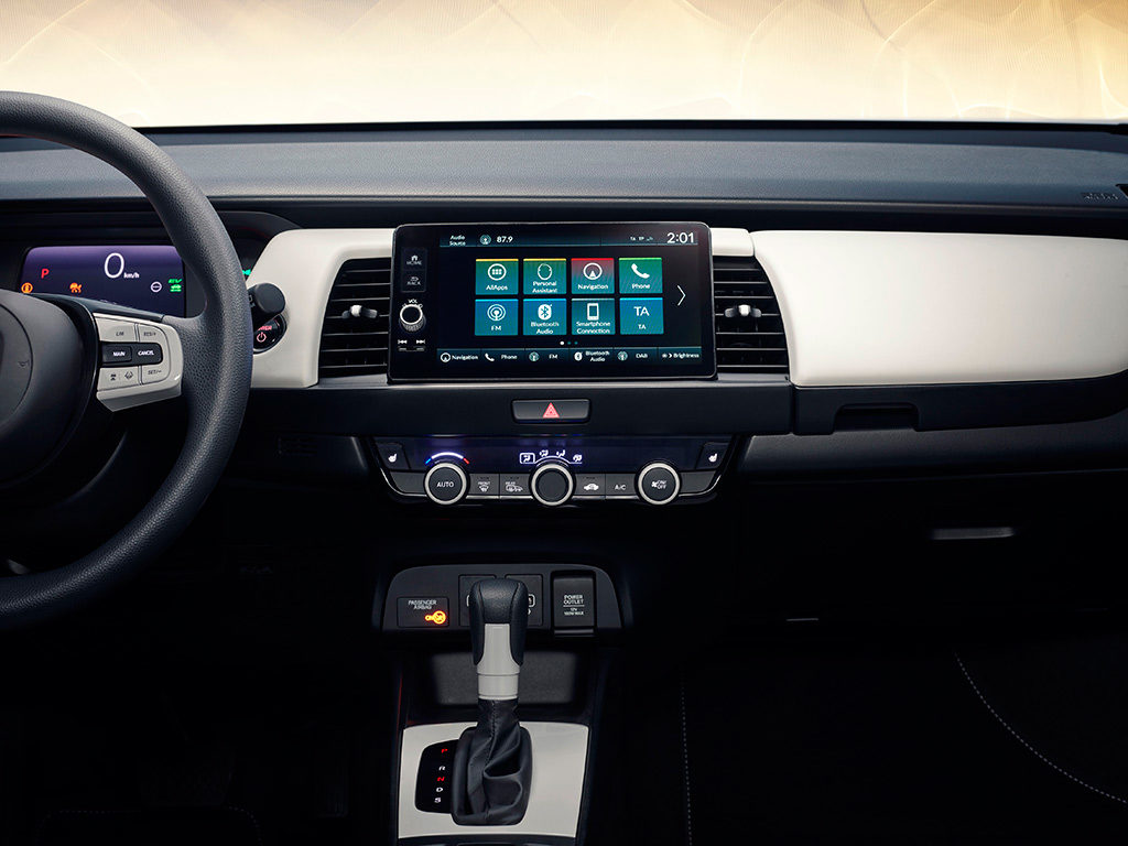 Honda Jazz con tecnología de propulsión híbrida