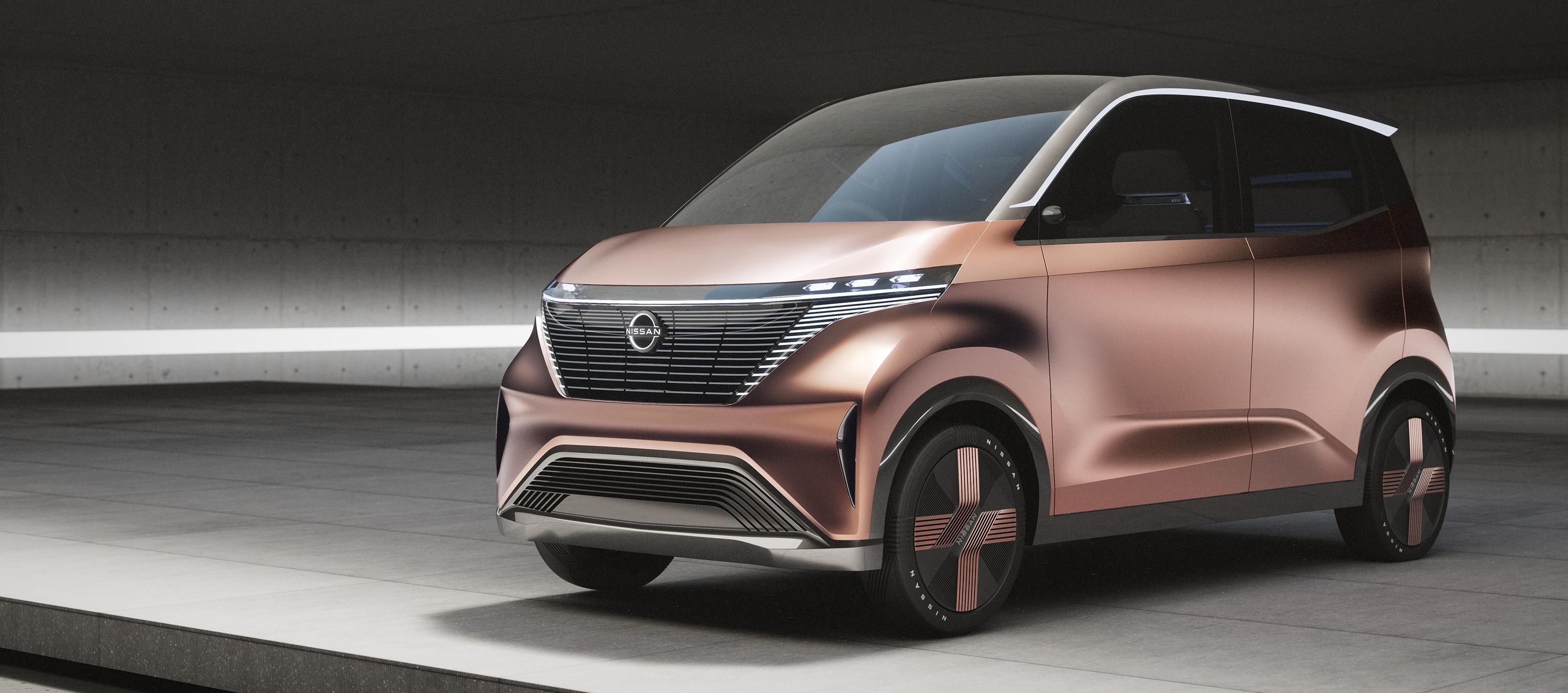 Nissan IMk el nuevo Concept Eléctrico de Nissan