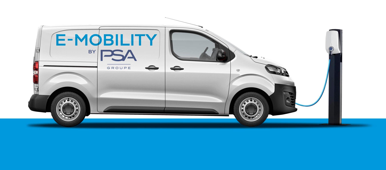 PSA lanzará 2020 versiones 100% eléctricas de sus furgo compactas