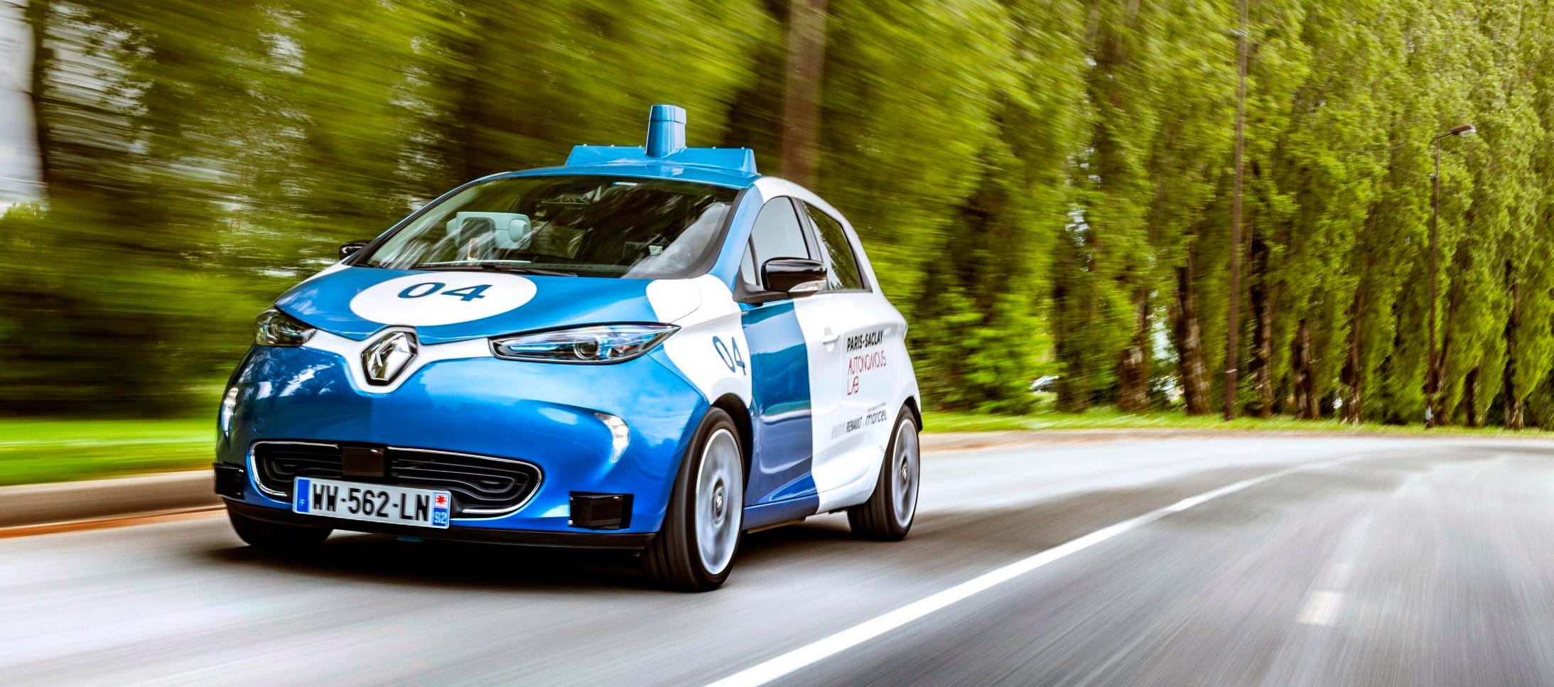 Paris-Saclay Autonomous Lab by Renault