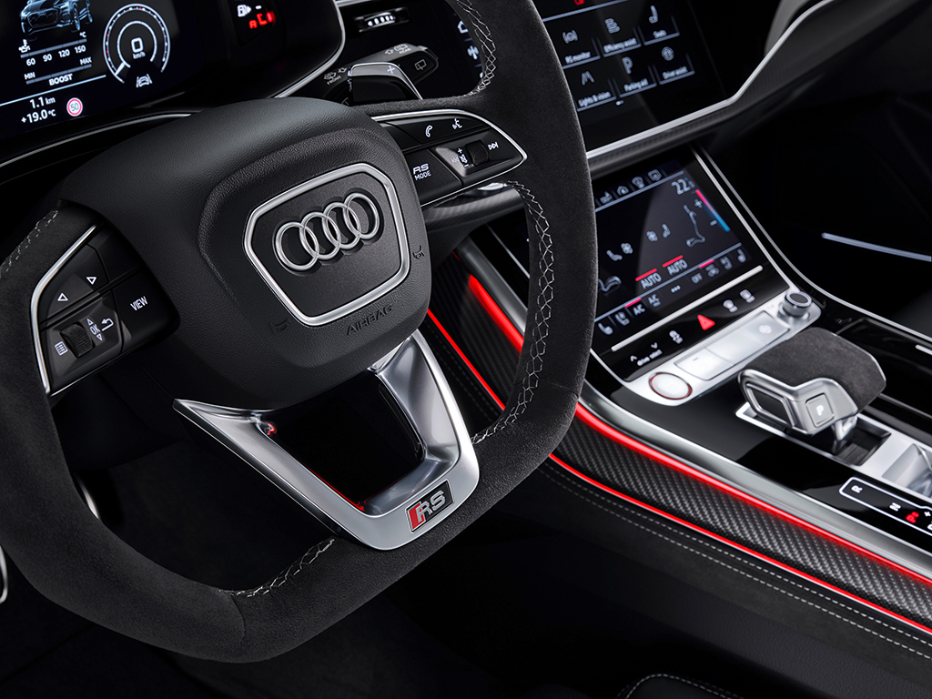 AUDI RS Q8, elegancia y deportividad a partes iguales