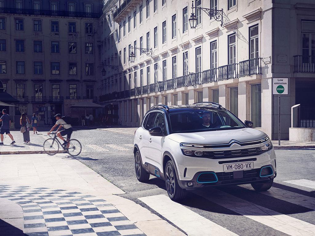 Citroën C5 Aircross Hybrid, Silent Urban Vehicle