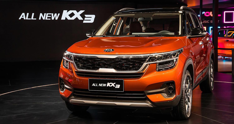 Kia Motors desvela el nuevo KX3 sólo para el mercado chino