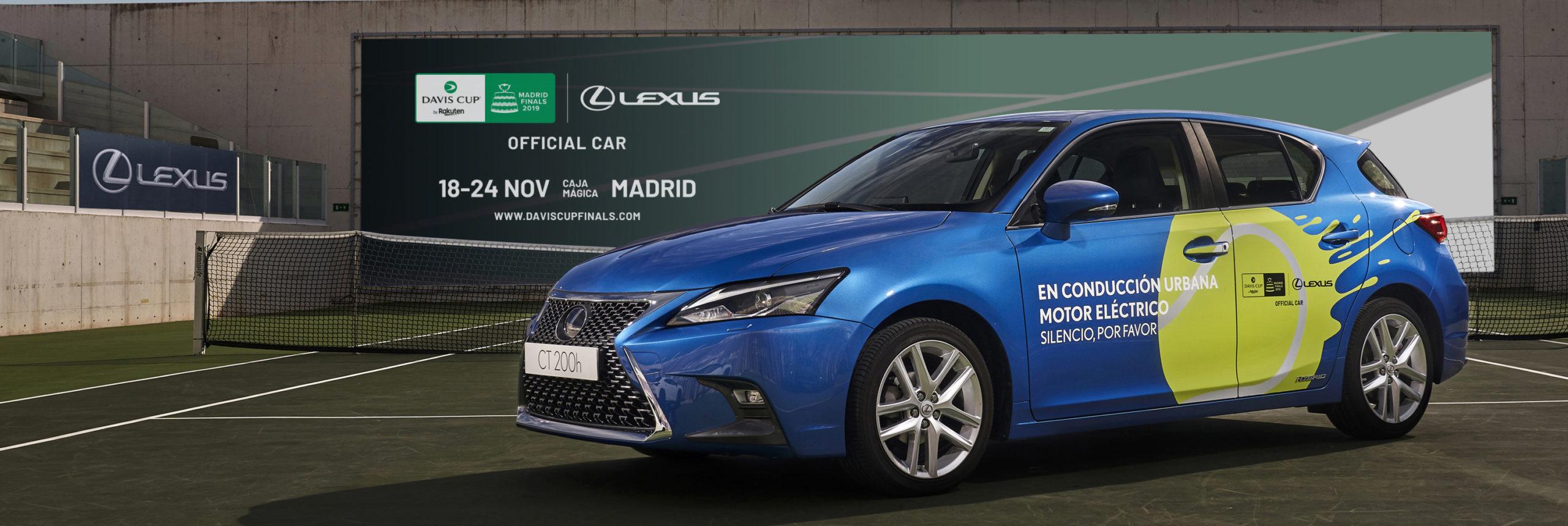 Lexus híbrido y la Davis Cup by Rakuten Finals