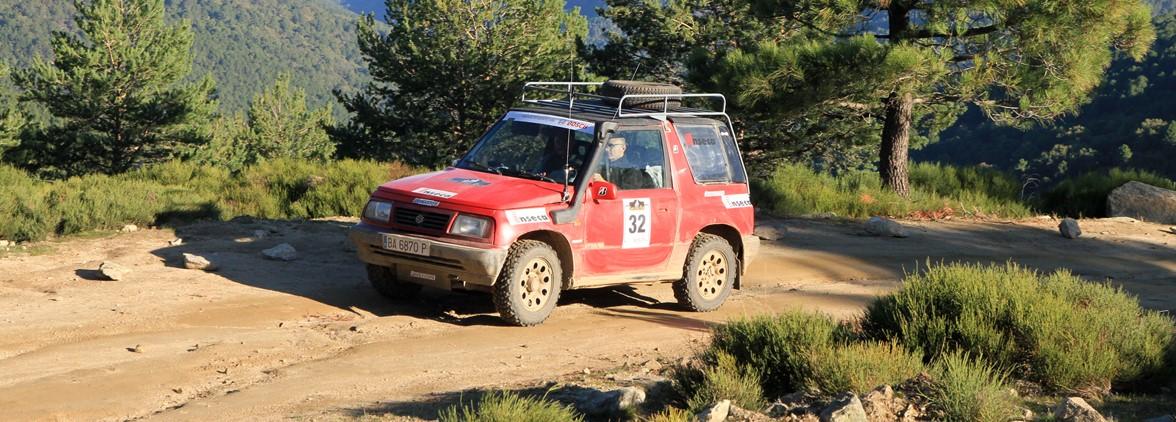 Suzuki en la VII edición del Spain Classic Raid