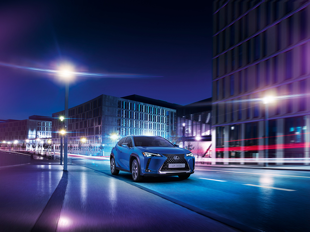 Lexus UX 300e, el primer eléctrico 100% de Lexus