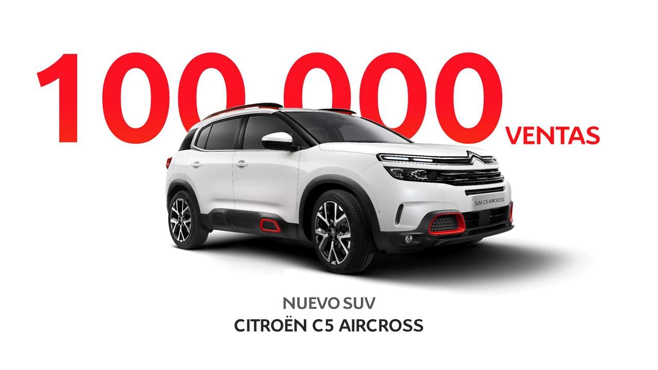 El Citroën C5 Aircross llega a las 100.000 unidades vendidas