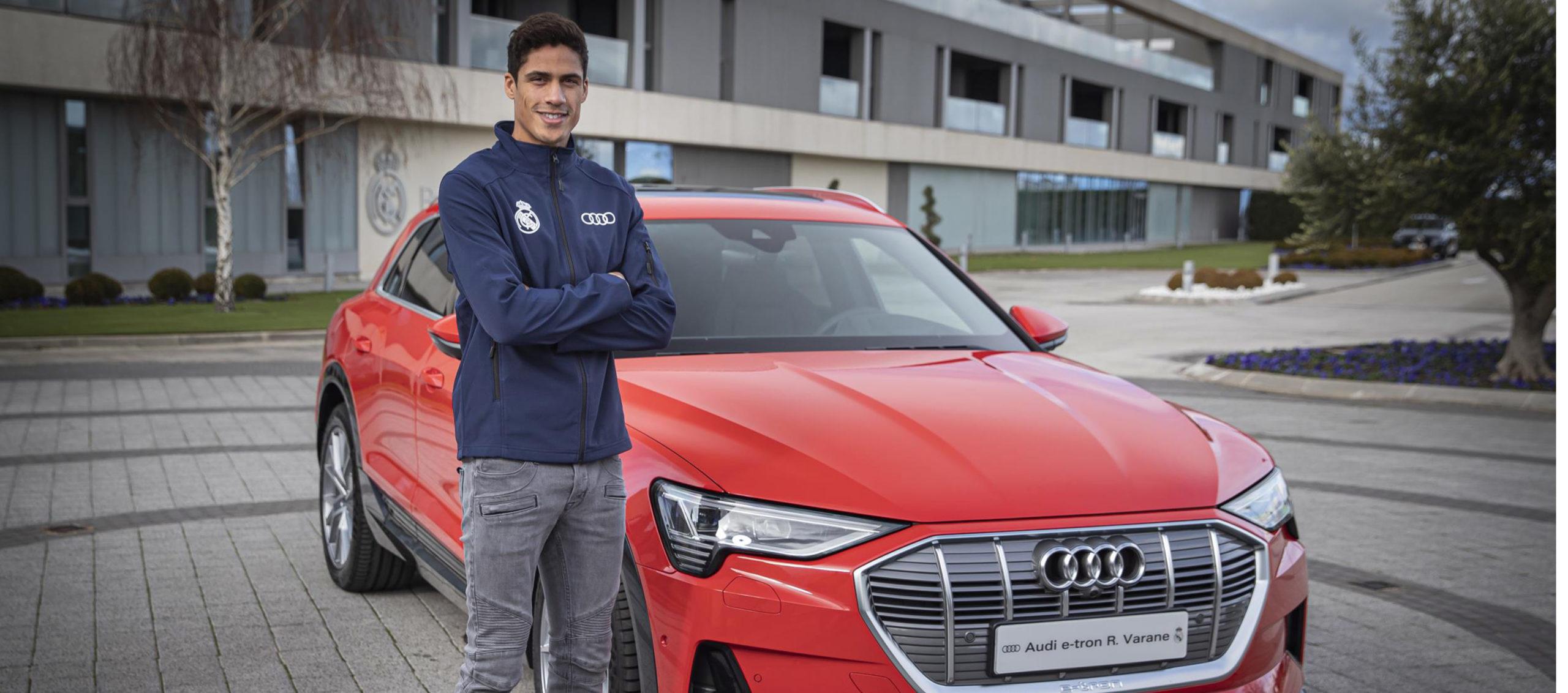 AUDI entrega sus nuevos coches a los jugadores del Real Madrid