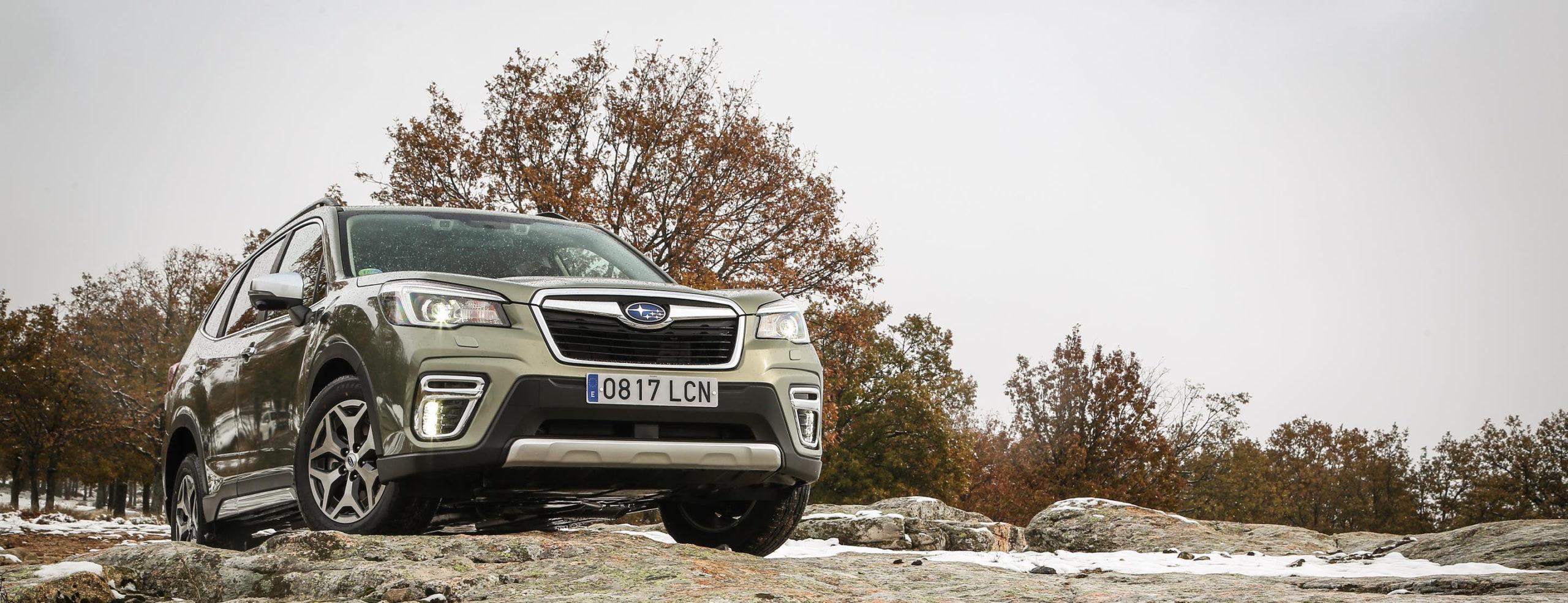 Subaru Forester ECO HYBRID maxima calificacion Euro NCAP y la mejor calificacion en su categoría