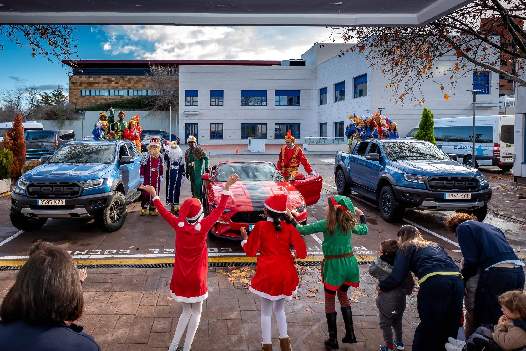 Ford y Fundación Bobath traen a los Reyes Magos