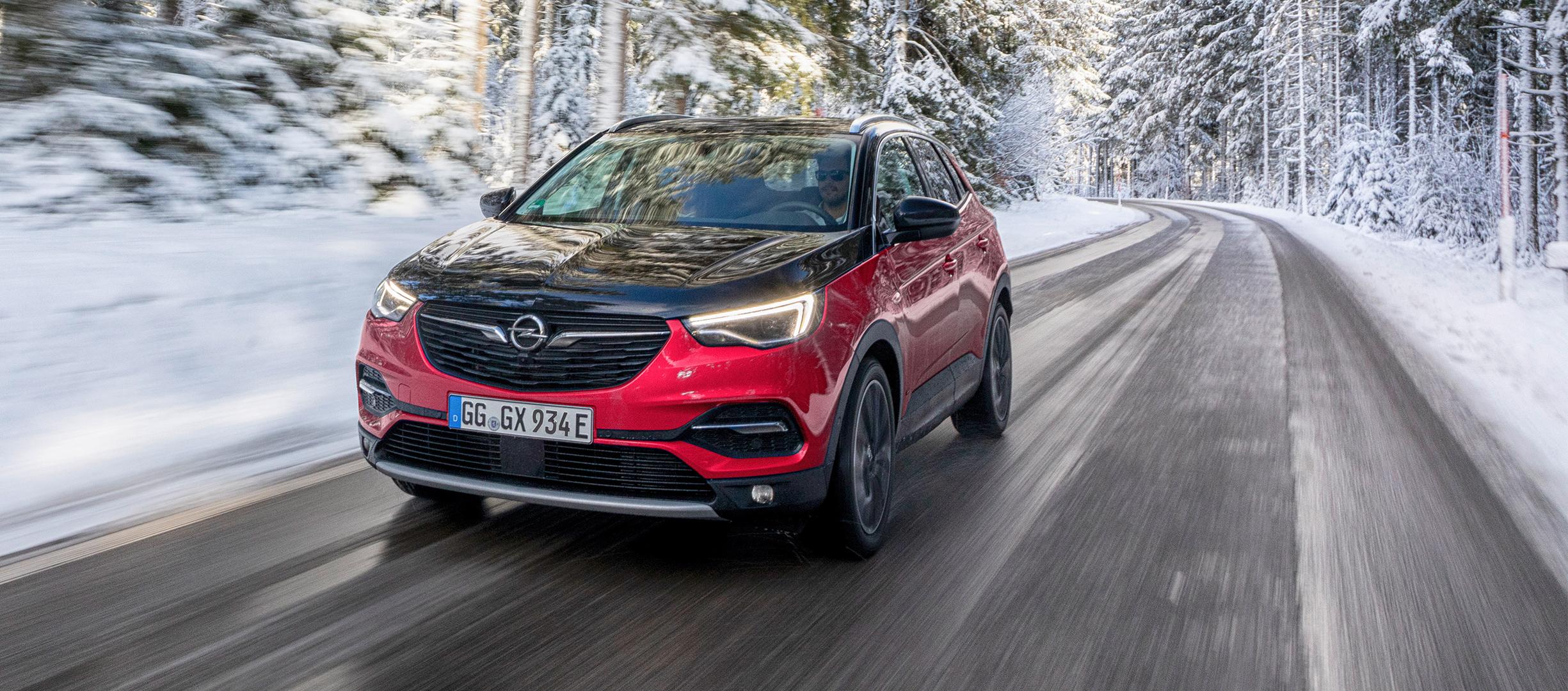 El Opel Grandland X incorpora luz azul