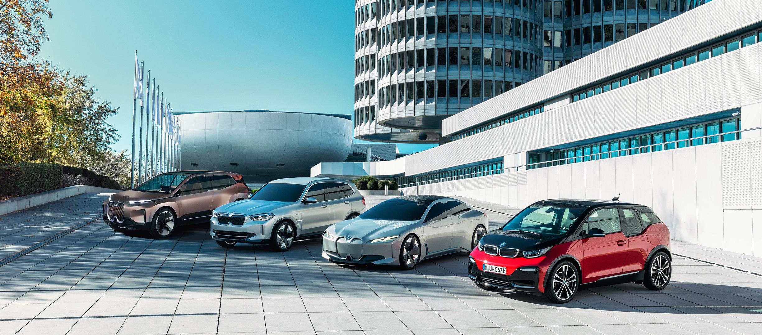 BMW iX3, propulsión eficiente, 100% eléctrico
