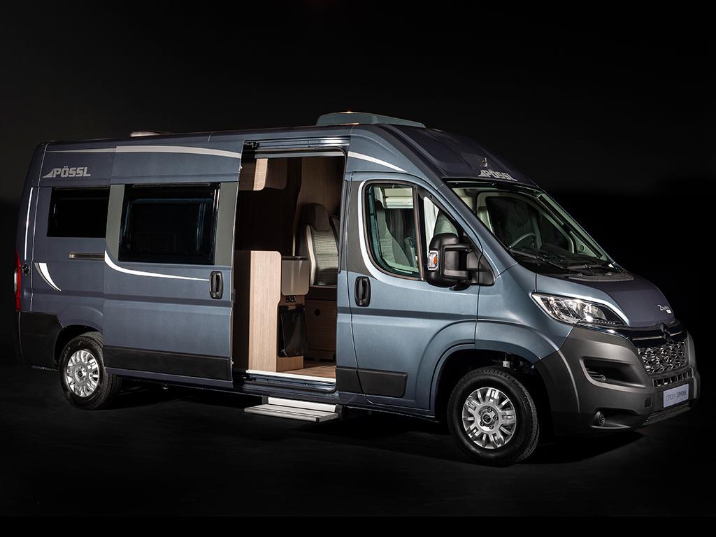Citroën presenta sus versiones Camper
