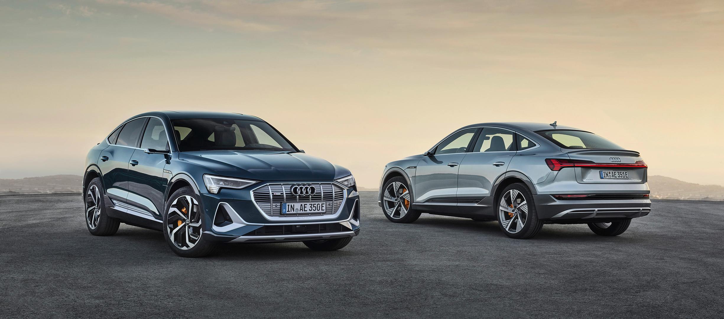 La gama e-Tron de Audi se completa con importantes novedades