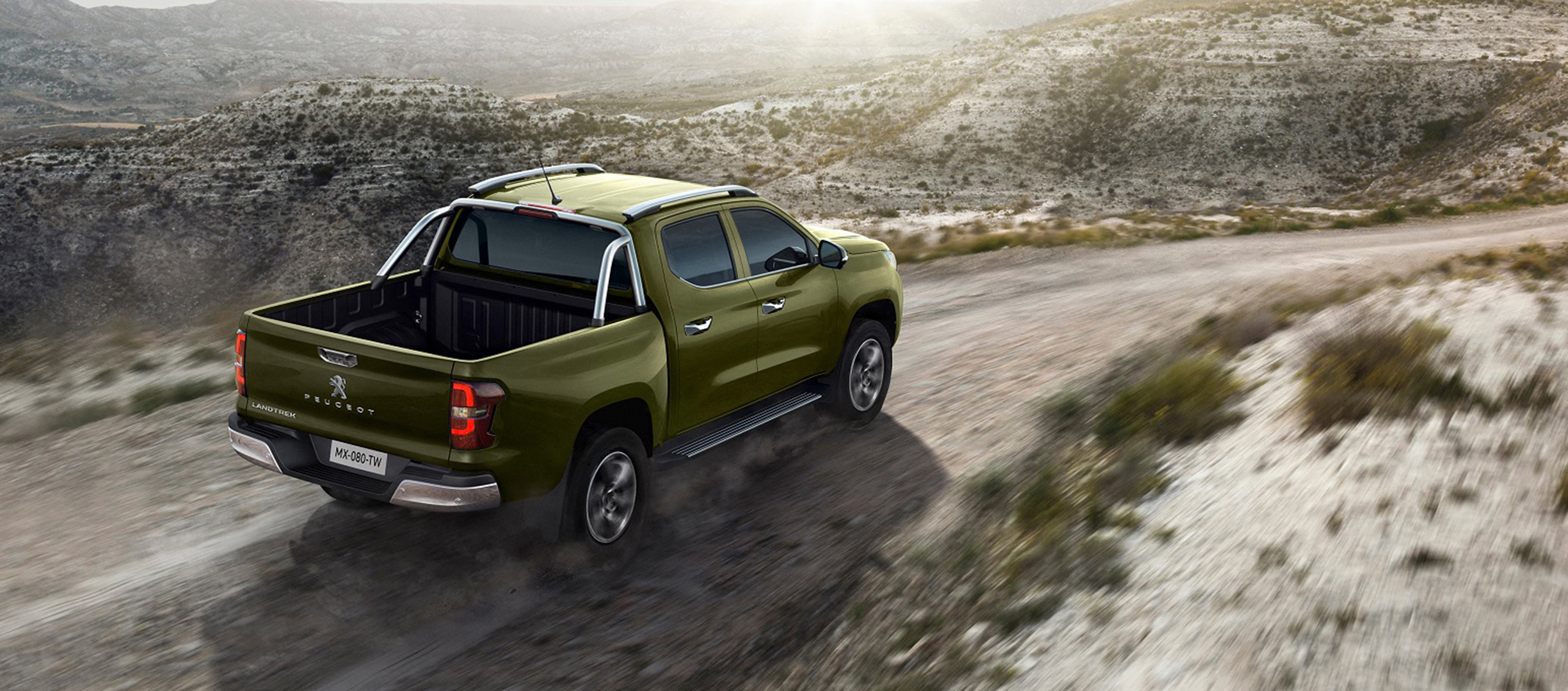 Peugeot Landtrek el nuevo pick-up de la marca del León
