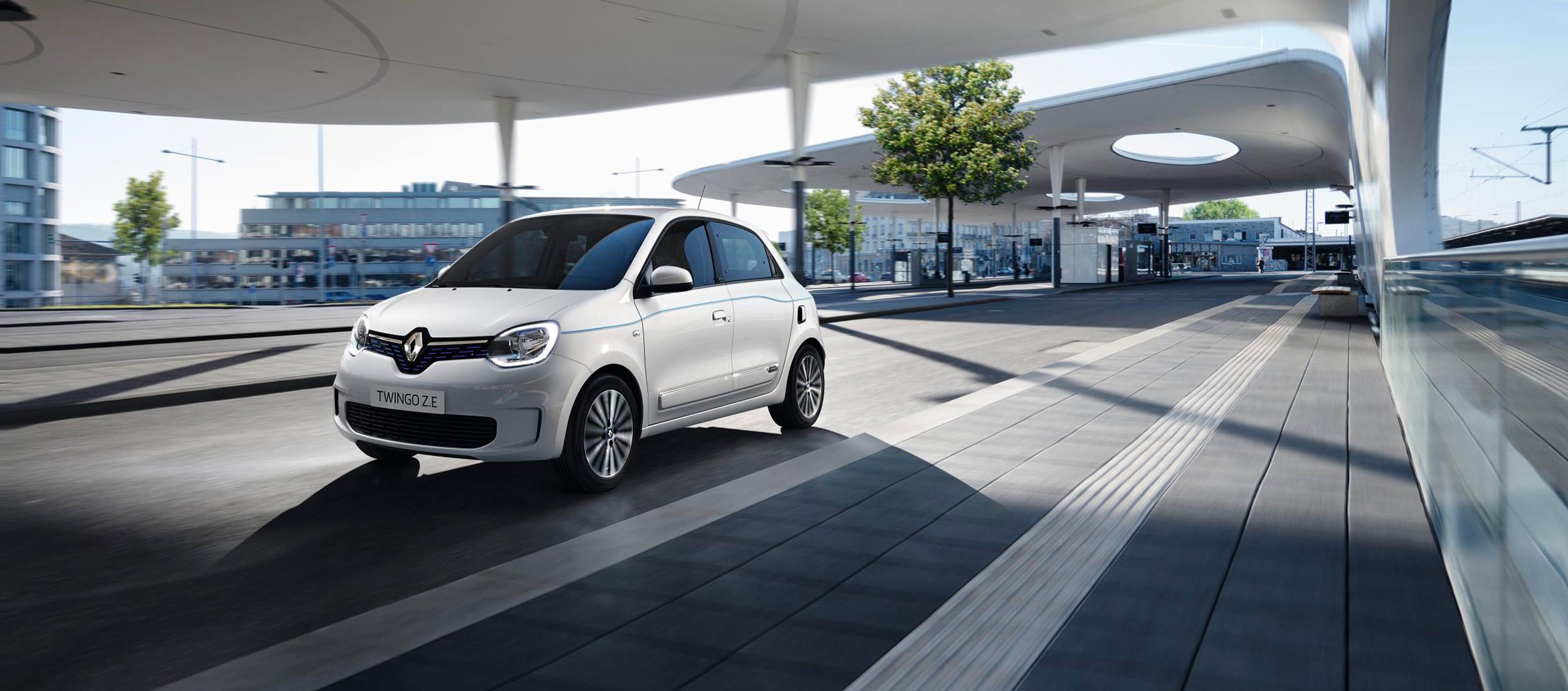 Renault Twingo Z.E. 100% eléctrico urbano