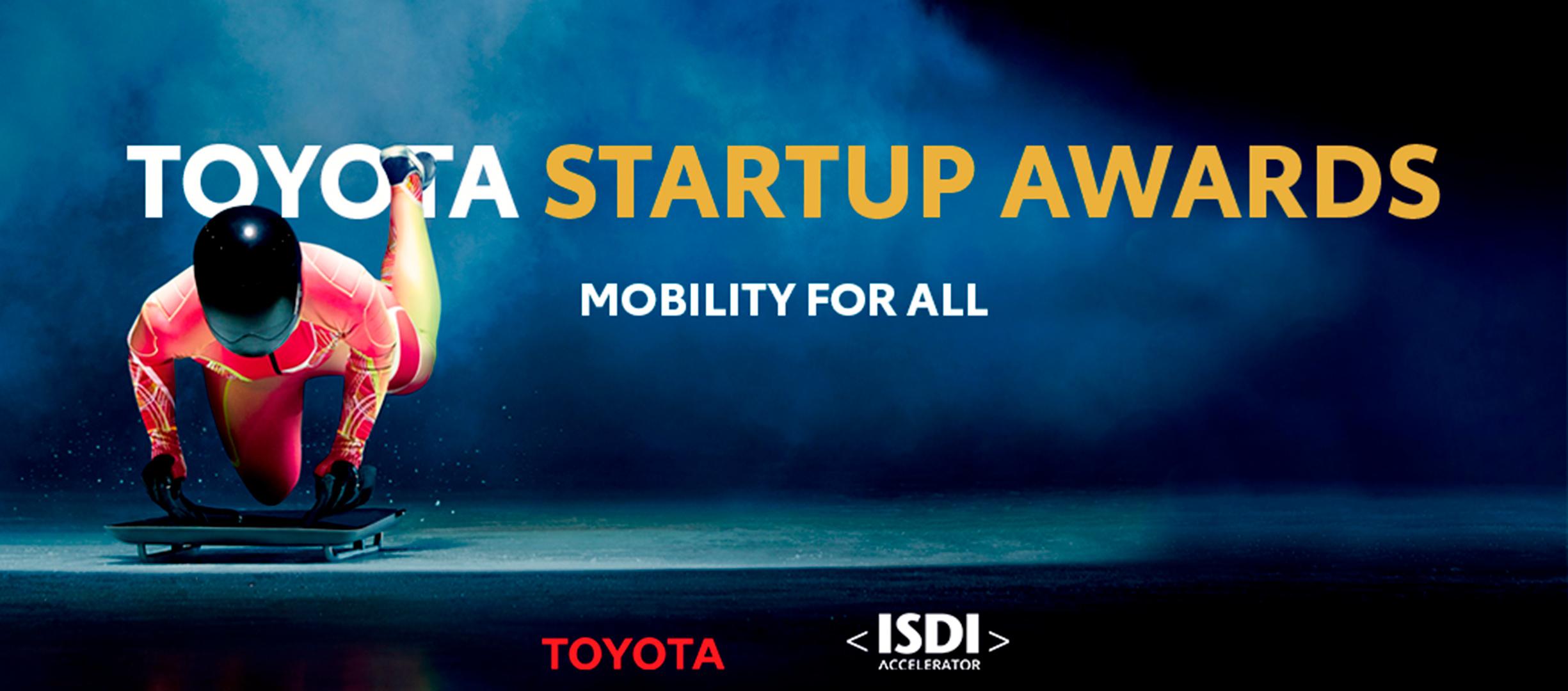 Ocho startups finalistas de los primeros premios Toyota Starup Awards