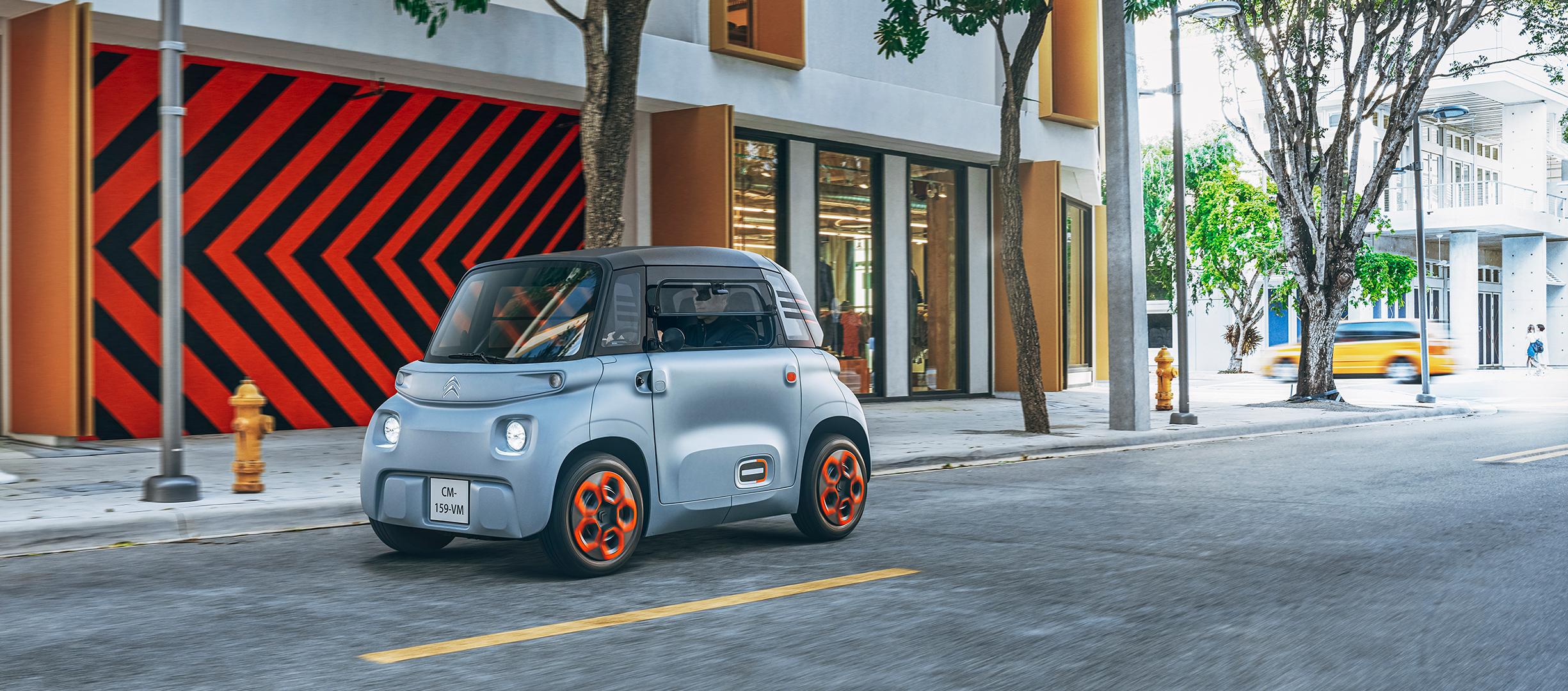 Citroën AMI, ha nacido una estrella