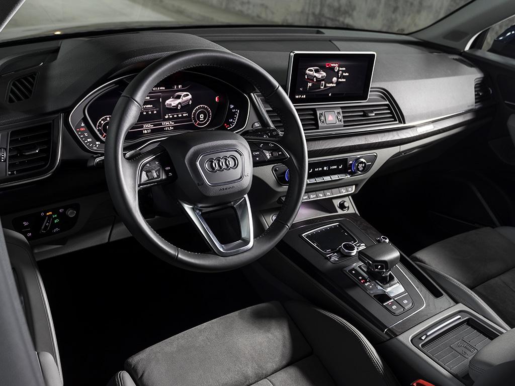 Tecnología Mild Hybrid en la gama AUDI Q5