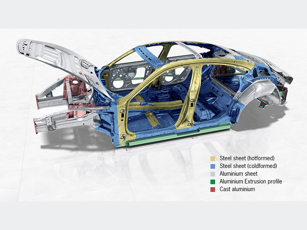 Porsche Taycan: Así es su sistema de propulsión