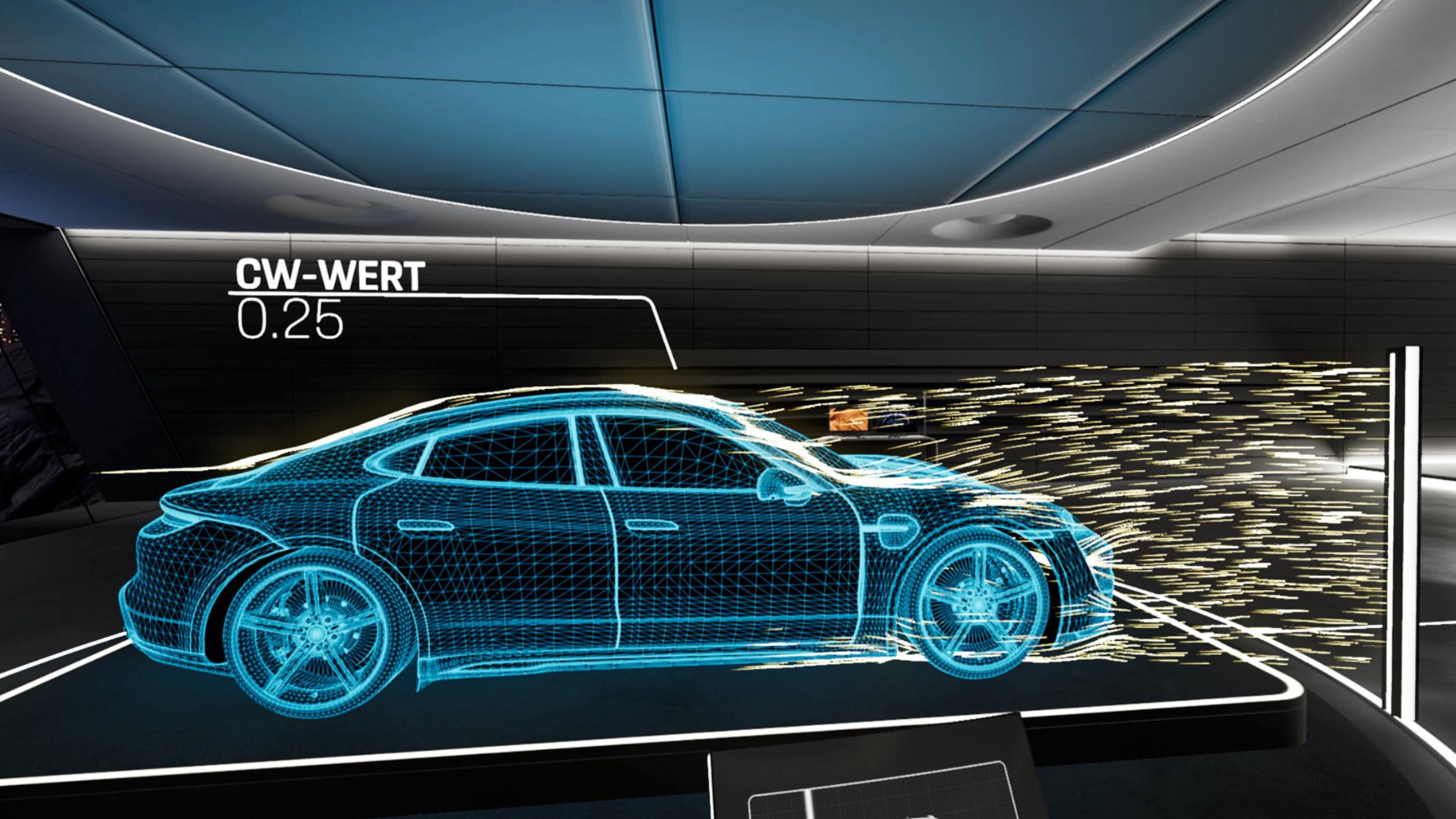 Porsche Taycan, enseñado mediante realidad virtual