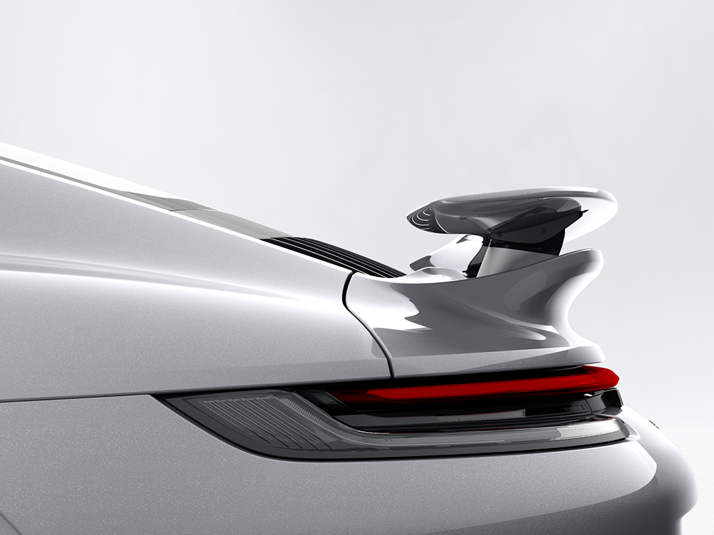 Nuevo Porsche 911 Turbo S, aerodinámica del futuro