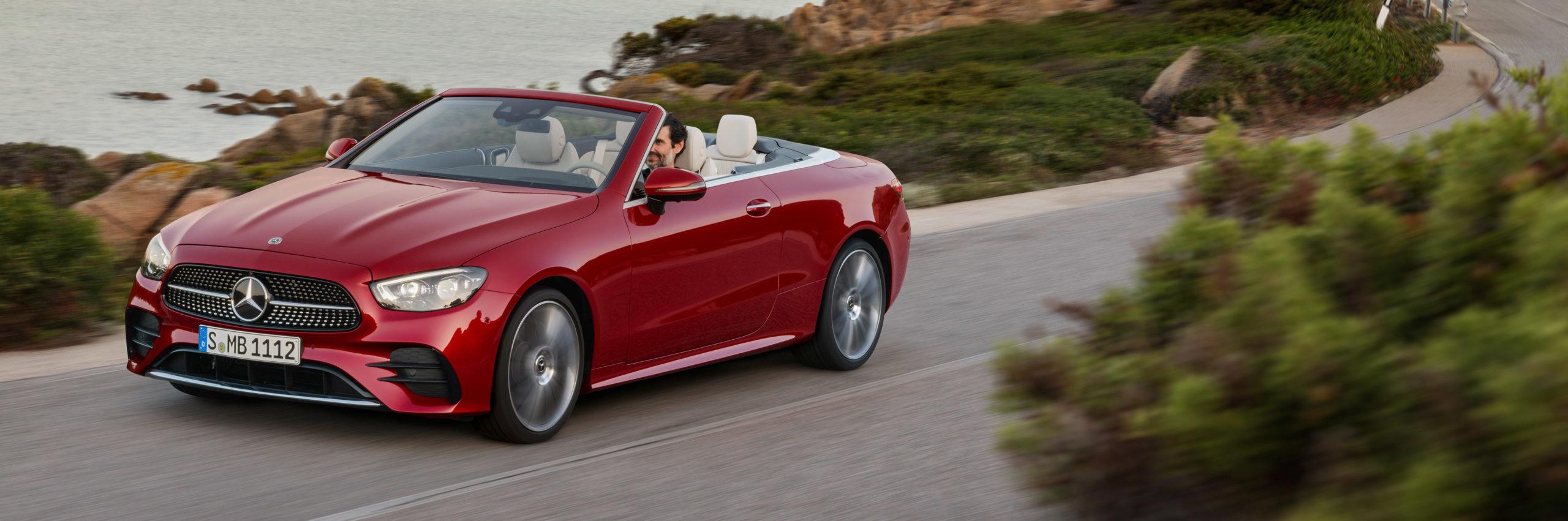 Ya pueden realizar pedidos en España de los nuevos MB Clase E Coupé y Cabrio