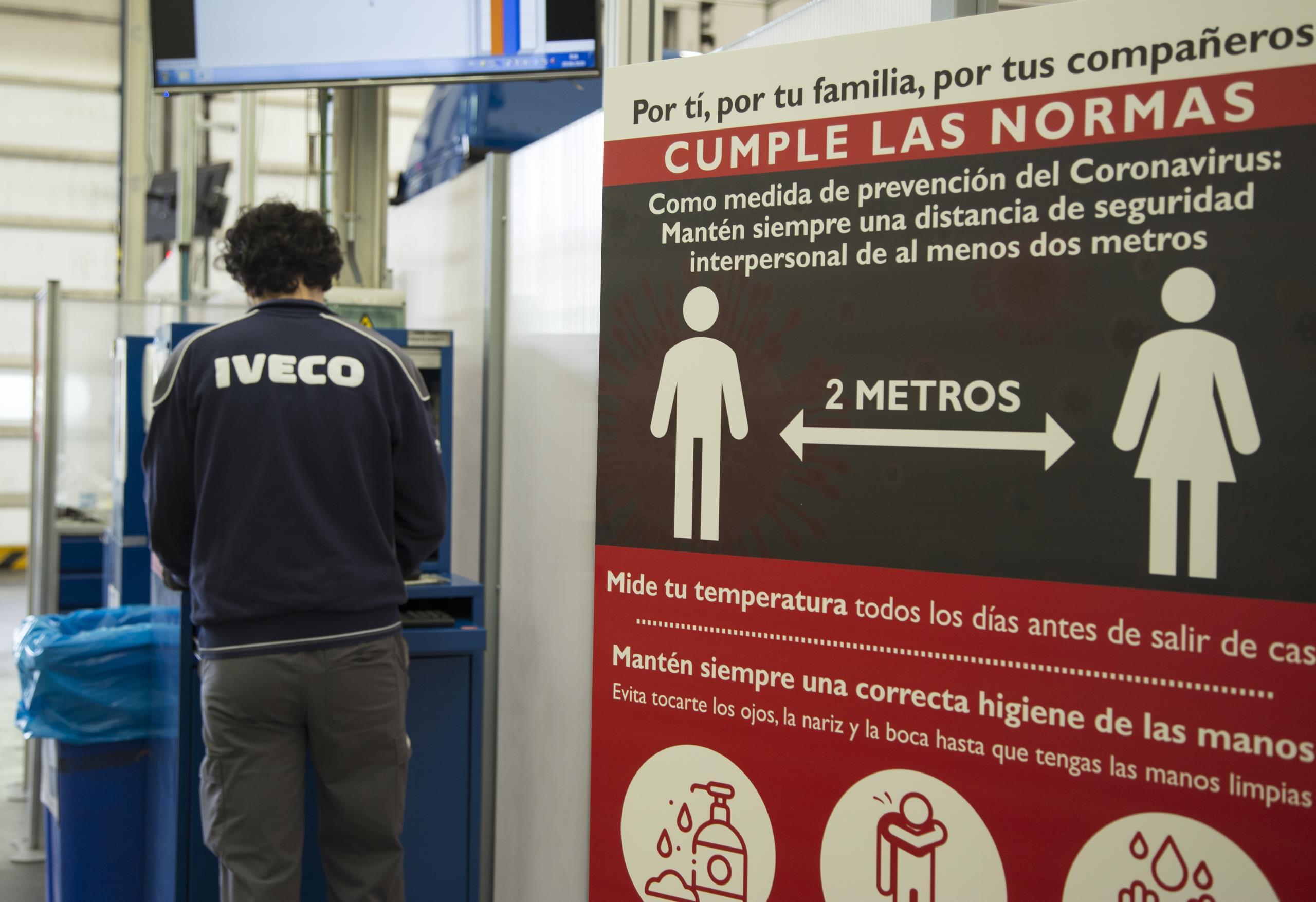 Las Fabricas de IVECO reabren la producción