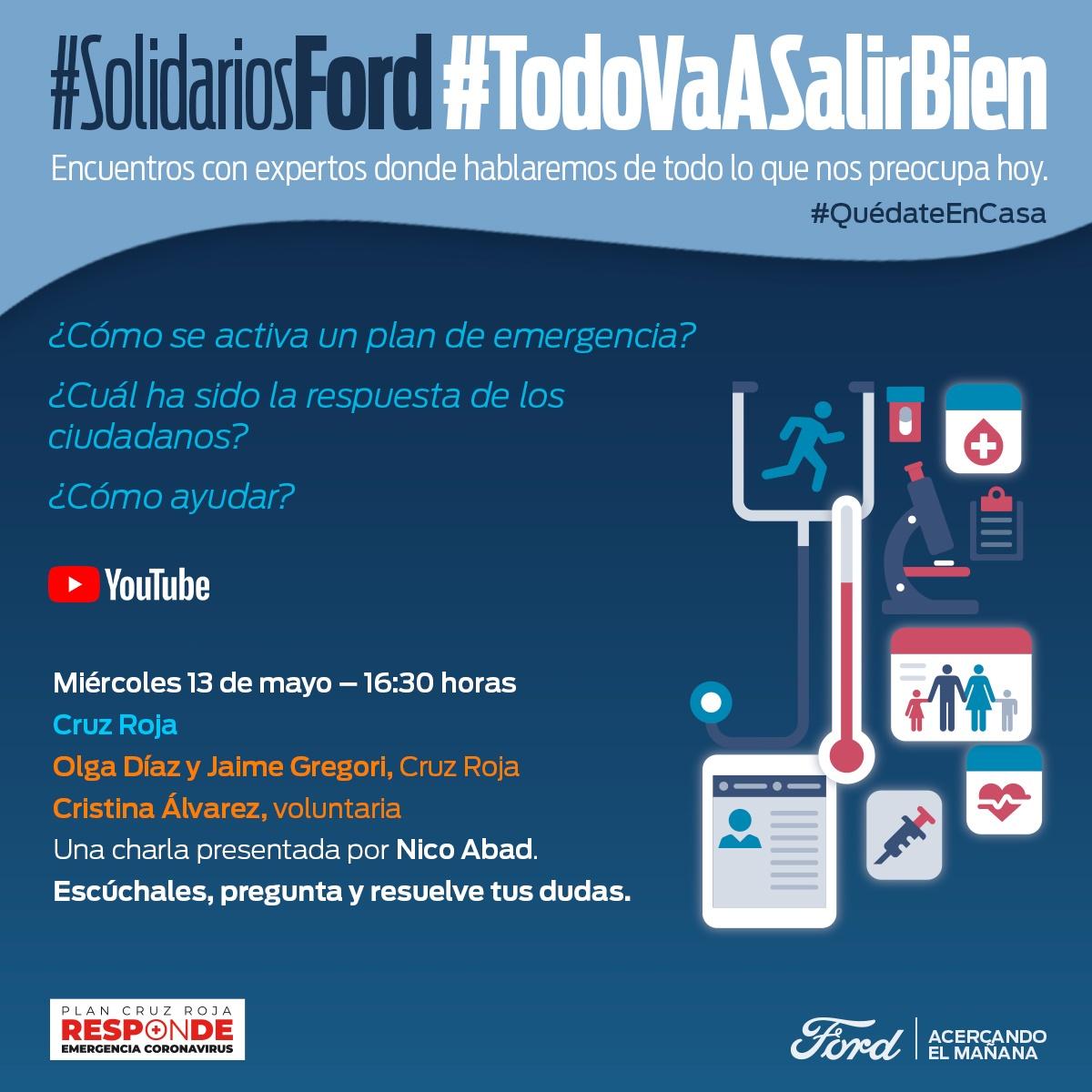 #SolidariosFord #TodoVaaSalirBien