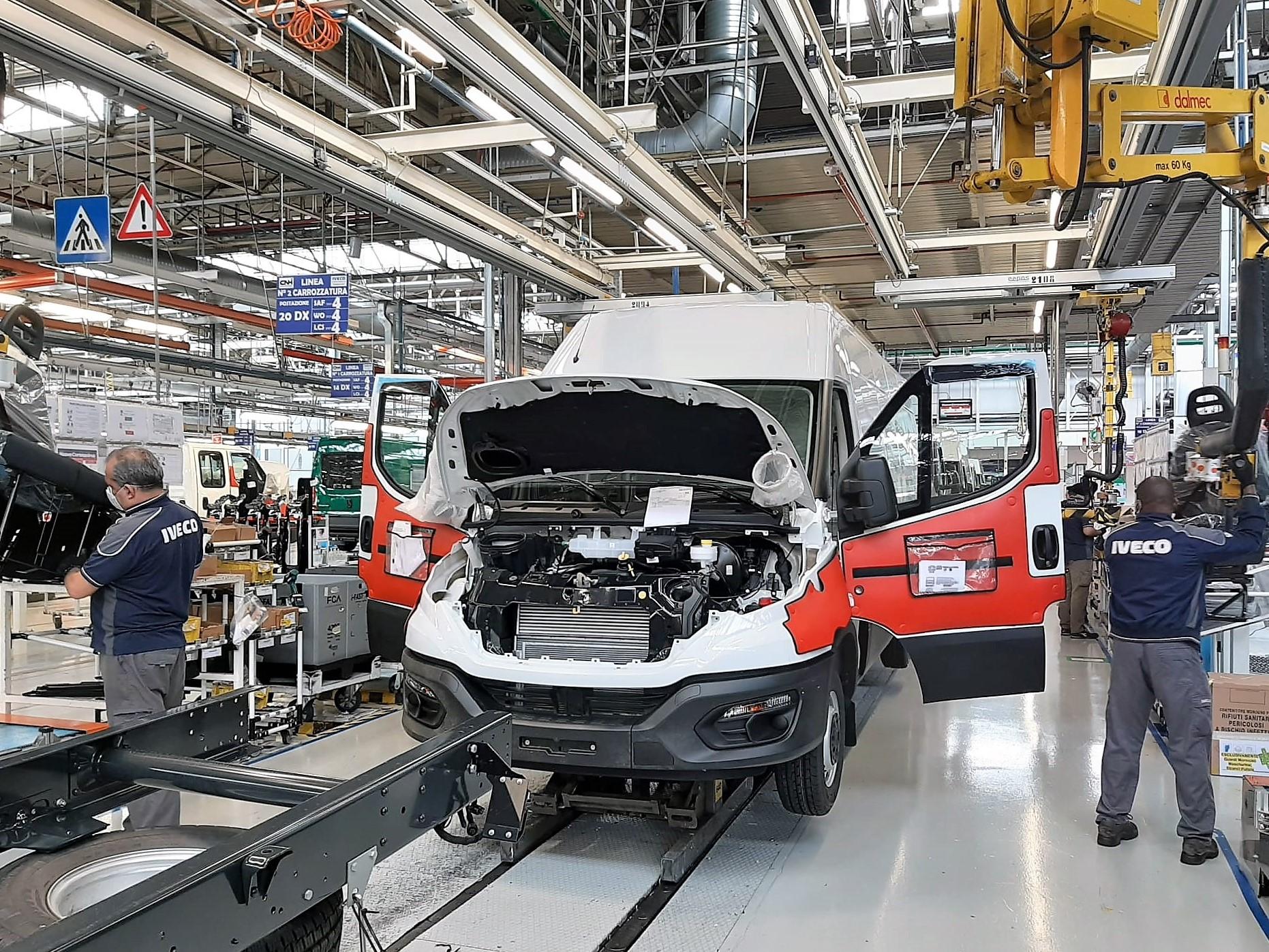IVECO reinicia la producción en Italia y España
