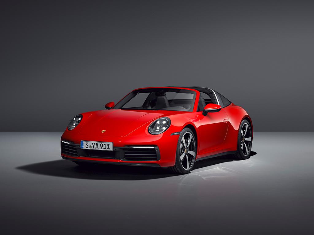 Porsche 911 Targa, diseño puro y elegante