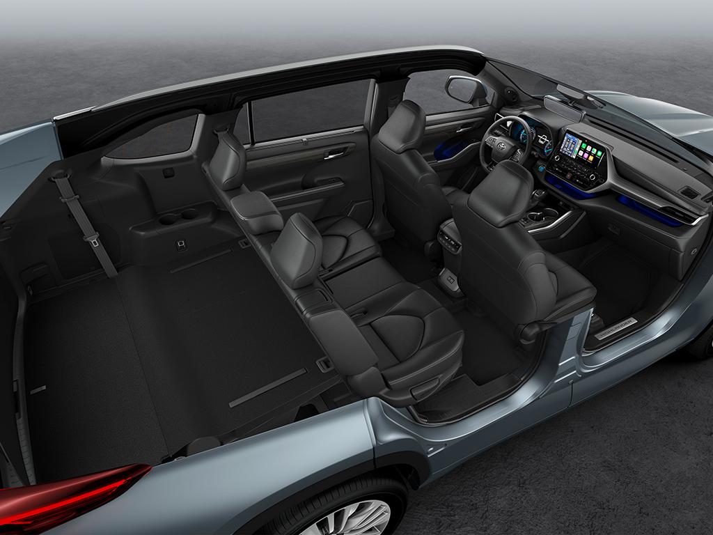 Toyota Highlander Electric Hybrid en breve en Europa