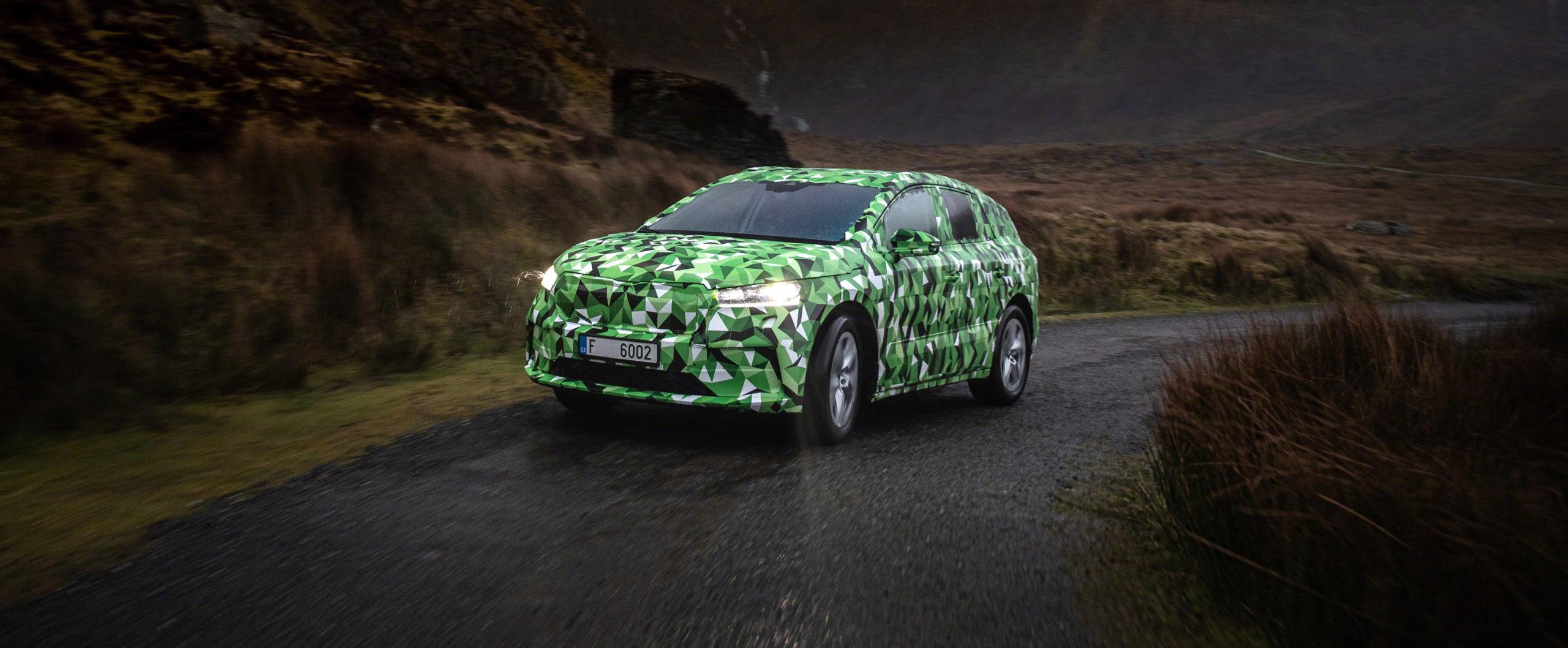 ŠKODA ENYAQ iV, SUV 100% eléctrico