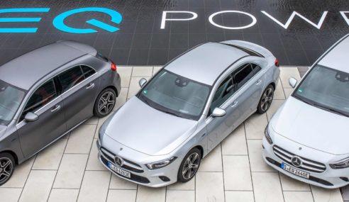 Mercedes Benz gama EQ Power, la simbiosis manda y el futuro es eléctrico