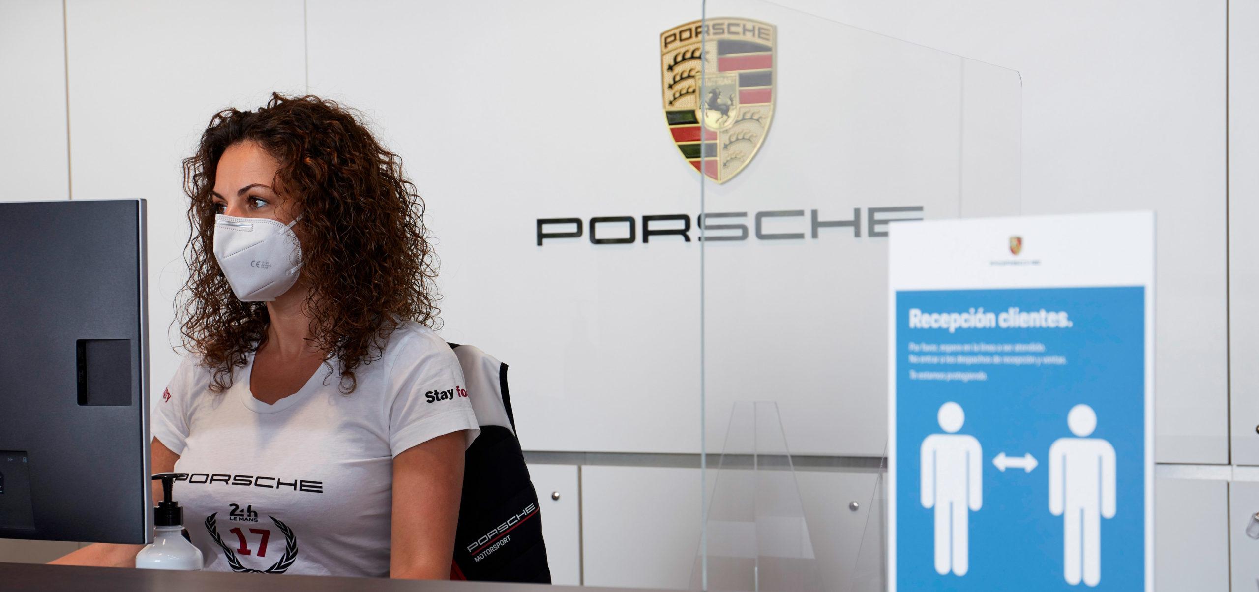 Porsche Ibérica certifica su protocolo de medidas sanitarias